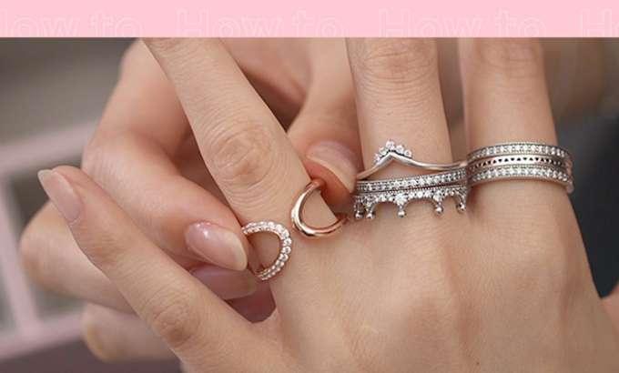Pronađite svoj stil kombiniranja prstenja