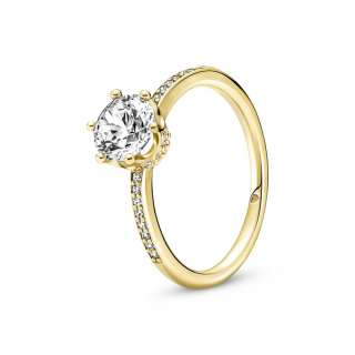 Prsten Prozirna svetlucava kruna