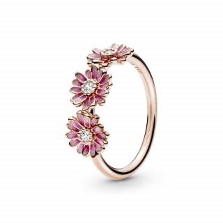 Prsten Tri ružičaste tratinčice