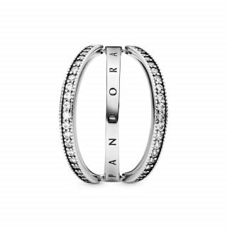 Prsten pomični Pandora logo