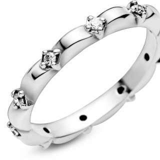 Prsten trakastog dizajna Latice