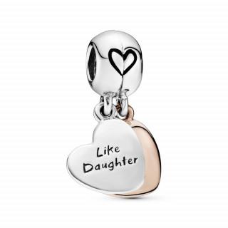 Viseći privjesak Srce za majku i kći