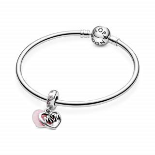 """Viseći privjesak Srce s natpisom """"Mum"""""""
