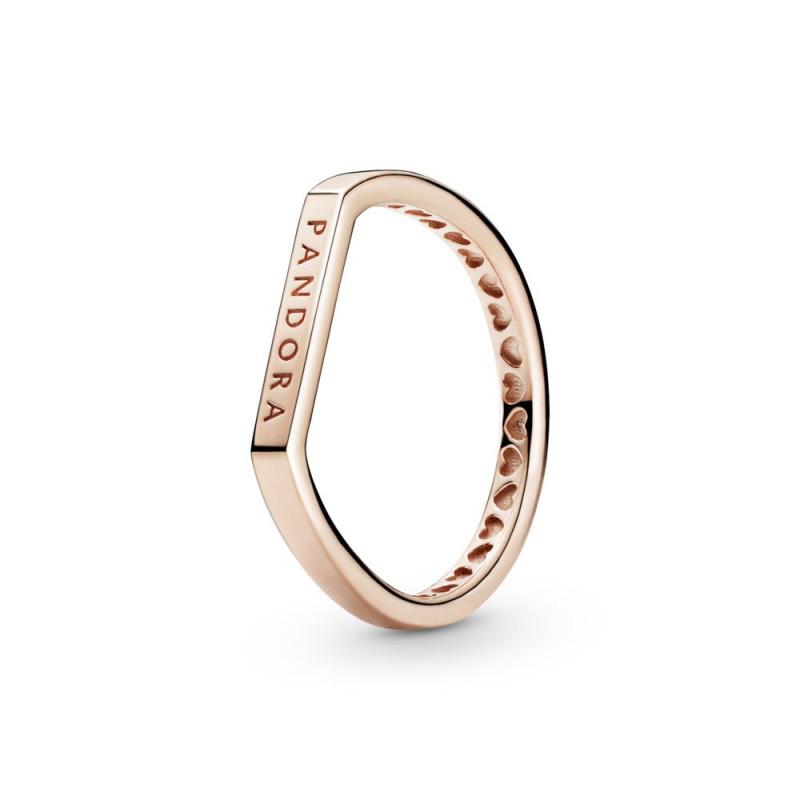 Prsten za kombiniranje s logotipom na pločici