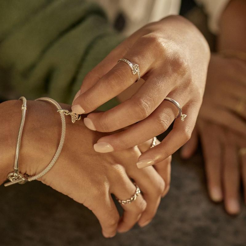 Prsten Dva svjetlucava srca