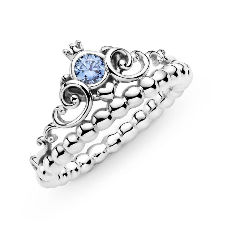 Prsten Disney Pepeljuga Plava tijara