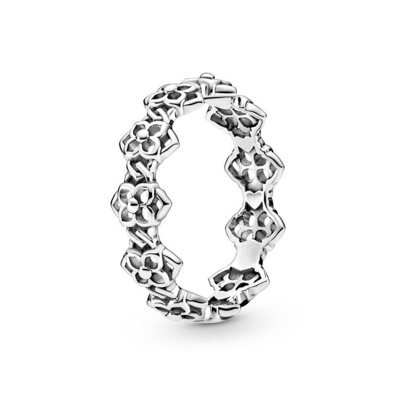 Prsten Latice ruže trakastog dizajna