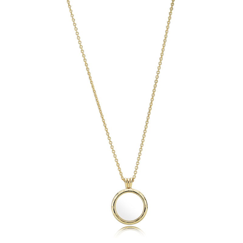 Ogrlica s medaljonom i Pandora logom