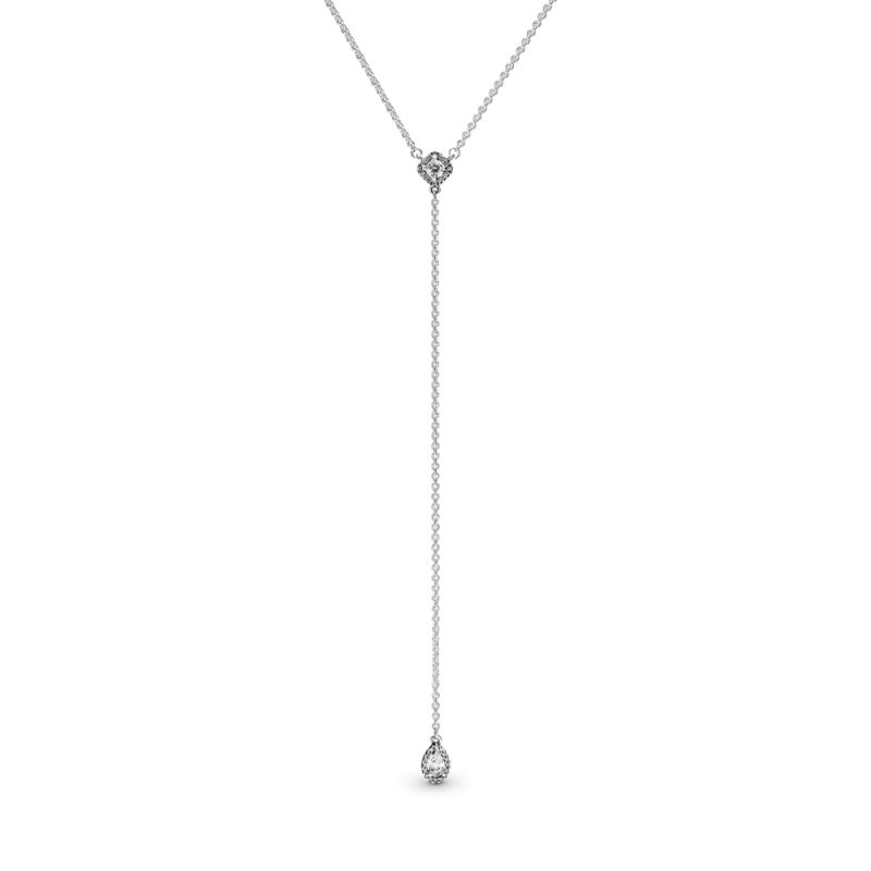 """Ogrlica u obliku slova """"Y"""" Geometrijski oblici"""