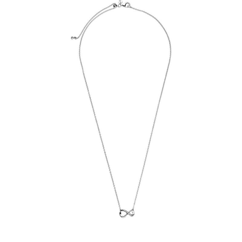 Ogrlica uz vrat Blistavi simbol beskonačnosti