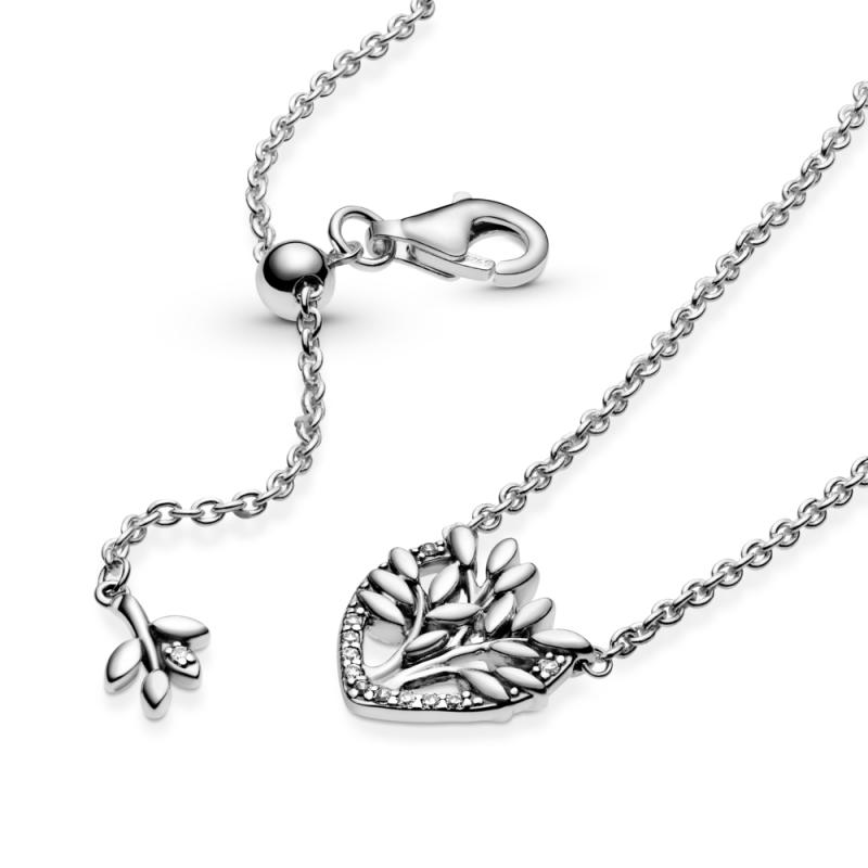 Ogrlica uz vrat Obiteljsko stablo u srcu