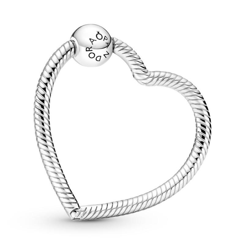 Držač za privjeske Pandora Moments u obliku srca