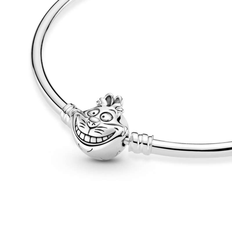 Kruta narukvica Pandora Moments s kopčom Disney Alisa u Zemlji čudesa, Cerigradska mačka