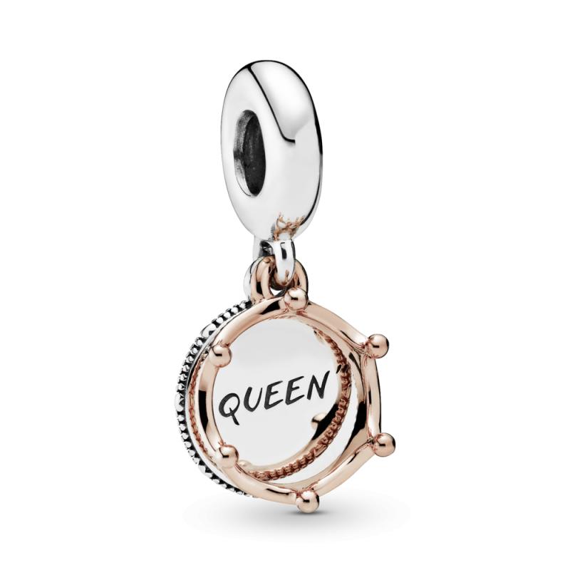 """Viseći privjesak """"Queen"""" s kraljevskom krunom"""
