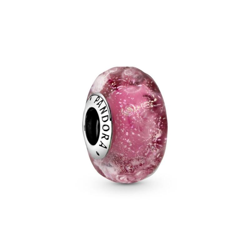 Privjesak od ružičastog Murano stakla