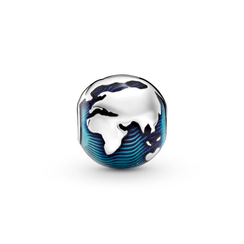 Privjesak s kopčom Plavi globus